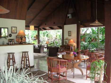 Hotel Magellan Inn restaurant, Cahuita, Costa Rica