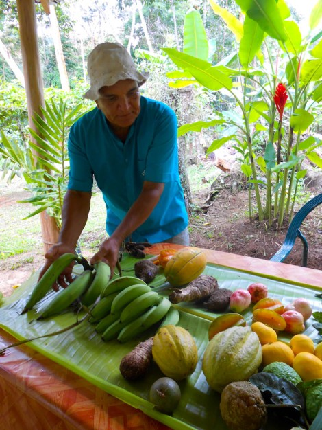 Roberto & his love for organic produce!