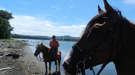 Rio Estrella & Talamanca mountains