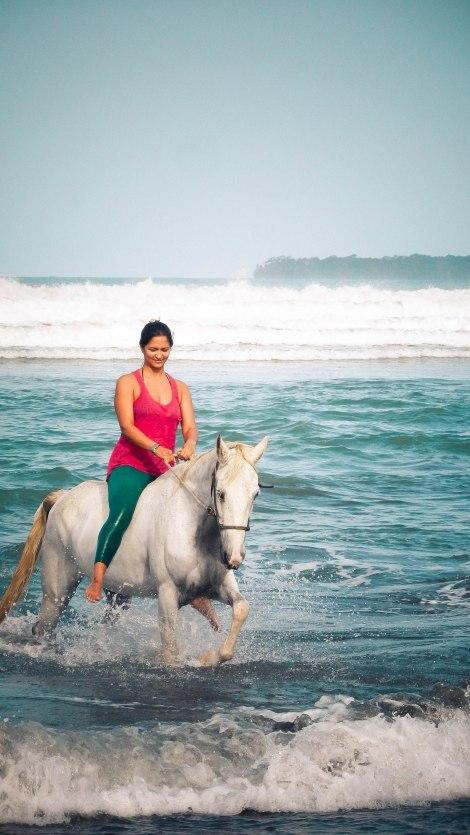 Yoga and Sea Horses