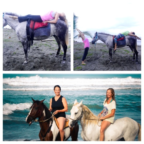 Yoga, Horses and Friendships
